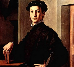 Portrait of a young man Agnolo Bronzino