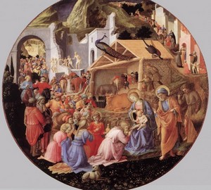 """Adoration of the Magi"", Fra Filippo Lippi and Fra Beato Angelico – description of the painting"