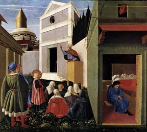 """Scenes from the life of St. Nicholas"", Fra Beato Angelico – description of the painting"