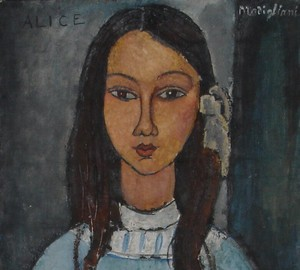 """Alice"", Amedeo Modigliani – description of the painting"