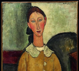 Girl in a yellow dress, Amedeo Modigliani – description of the painting