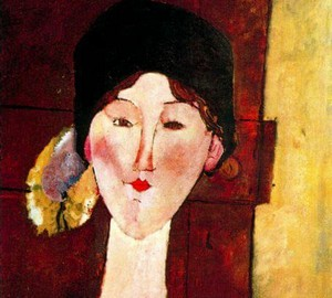 Portrait of Beatrice Hastings, Amedeo Modigliani – description