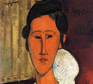 """Anna Zborovskaya"", Amedeo Modigliani – description of the painting"