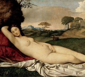 """Sleeping Venus"", Giorgione – description of the painting"