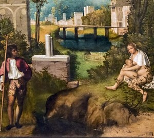 """""""Storm (Thunderstorm)"""", Giorgione – description of the painting"""