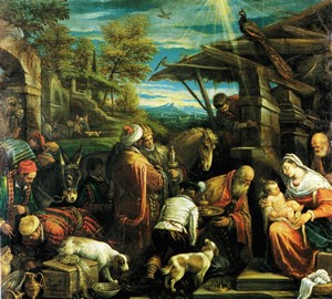 """Adoration of the Magi"", Jacopo Bassano – description of the painting"