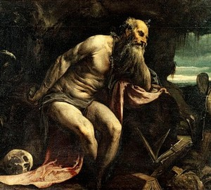 """Saint Jerome in the desert"", Jacopo Bassano – description of the painting"