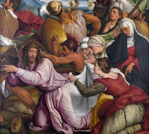 """The Way to Calvary"", Jacopo Bassano – description of the painting"