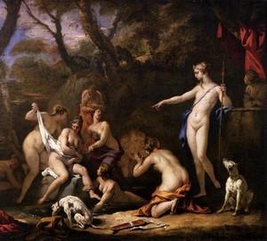 Diana and Callisto, Sebastiano Ricci