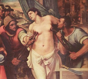"""Martyrdom of St. Agatha"", Sebastiano del Piombo – description of the painting"