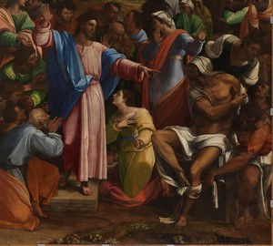 """The Resurrection of Lazarus"", Sebastiano del Piombo – description of the painting"