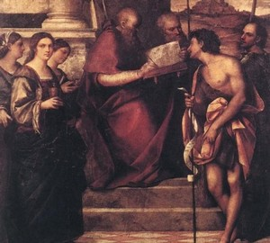 """St. John Chrysostom"", Sebastiano del Piombo – description of the painting"