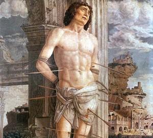 Saint Sebastian, Andrea Mantegna