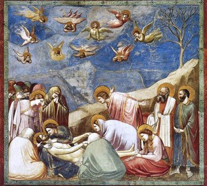 """Mourning of Christ"", Giotto di Bondone – description of the painting"