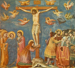 """Crucifixion"", Giotto di Bondone – description of the painting"