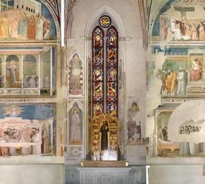 Capella Bardi, Giotto di Bondone – description