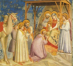 """Adoration of the Magi"", Giotto di Bondone – description of the painting"