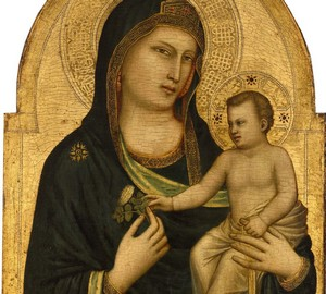 """Madonna and Child"", Giotto di Bondone – description of the painting"