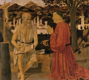 Saint Jerome with a donor, Piero della Francesca