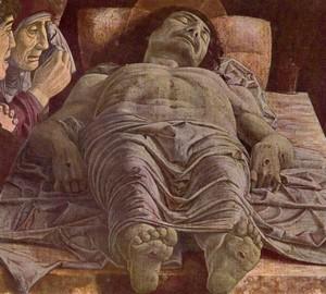 Dead Christ, Andrea Mantegna, 1490