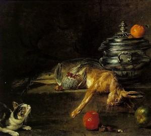"""Silver tureen"", Jean Baptiste Simeon Chardin – description of the painting"