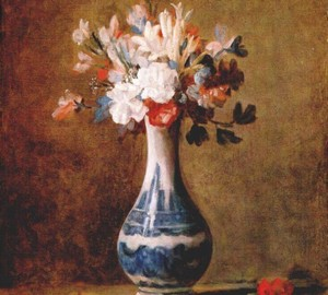 """Flowers in a Vase"", Jean Baptiste Simeon Chardin – description of the painting"