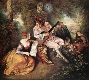 Love Song, Antoine Watteau