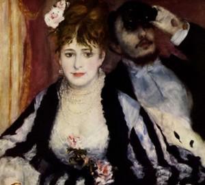 Painting Lodge, Renoir, 1874