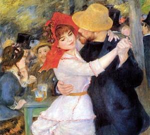 Dance at Bougival, Renoir, 1883