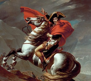 Napoleon on the pass of Saint-Bernard, Jacques-Louis David – description of the painting
