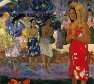 la orana Maria (Ave Maria), Paul Gauguin, 1891