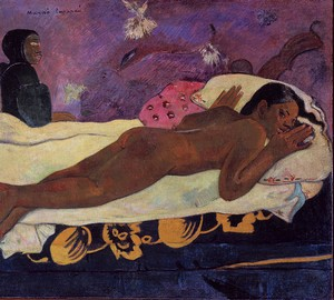 The spirit of the dead does not sleep, Paul Gauguin – description of the painting