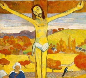 The Yellow Christ, Paul Gauguin – description of the painting