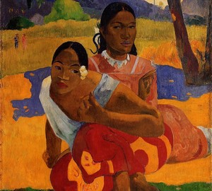 When married, Paul Gauguin – description of the painting