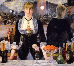 Bar in the Foley Berger, Eduard Manet – description of the painting
