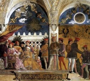 Camera degli Dosi, Andrea Mantegna