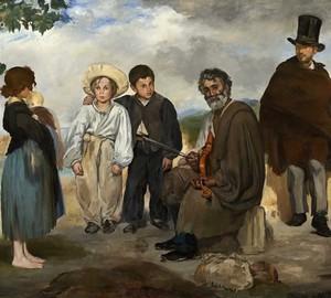 Old musician, Eduard Manet – description of the painting
