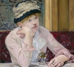 Plum, Eduard Manet – description of the painting