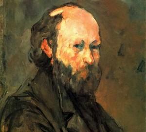 Self Portrait, Paul Cezanne, 1875
