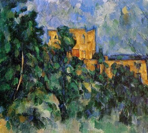 Chateau Noir, Paul Cezanne – description of the painting