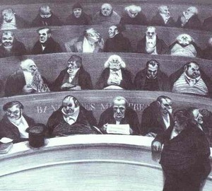 The Legislative Womb, Honore Daumier – Description