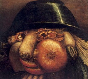 """The Gardener"", Giuseppe Arcimboldo – description of the painting"