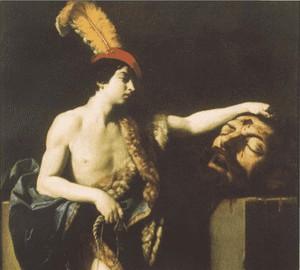 David with the Head of Goliath, Guido Reni, 1605