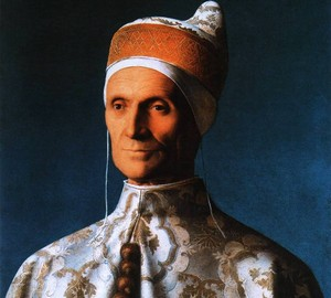 Portrait of Doge Leonardo Loredano, Giovanni (Giambellino) Bellini