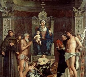 Madonna and Saints – Altar of San Jobb, Giambellino