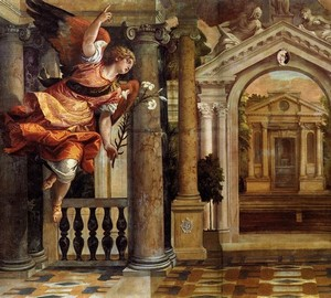 The Annunciation, Paolo Veronese – description of the painting