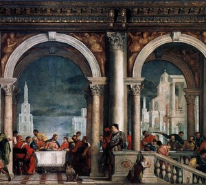 Feast in the house of Levi, Paolo Veronese, 1573