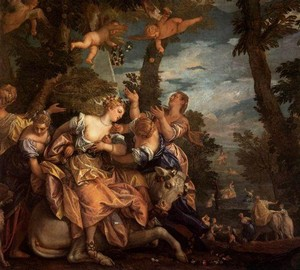 The Abduction of Europe, Paolo Veronese – description of the painting