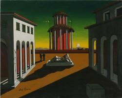 Place d'Italia - Giorgio de Chirico