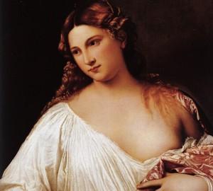 Painting Flora, Titian Vecellio